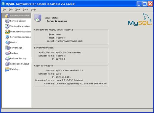 MySQL :: MySQL Administrator :: 8 1 Introduction