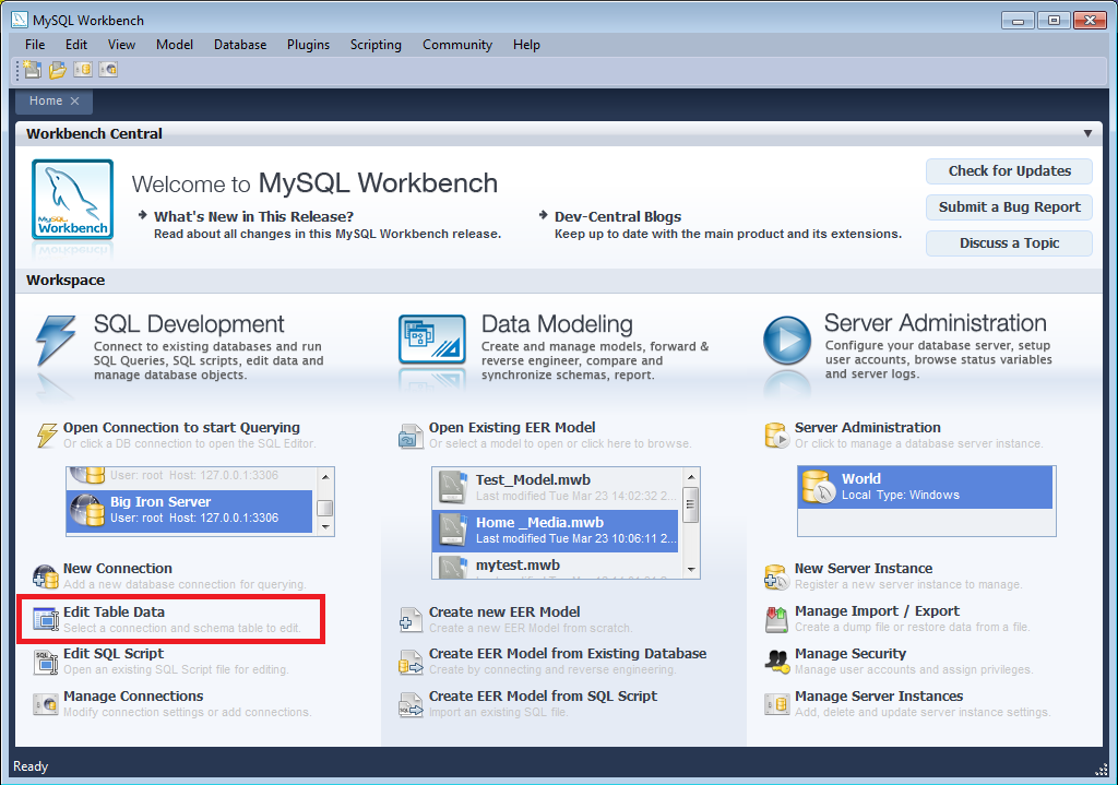 mysql mysql workbench 4 2 adding data to your database rh download nust na